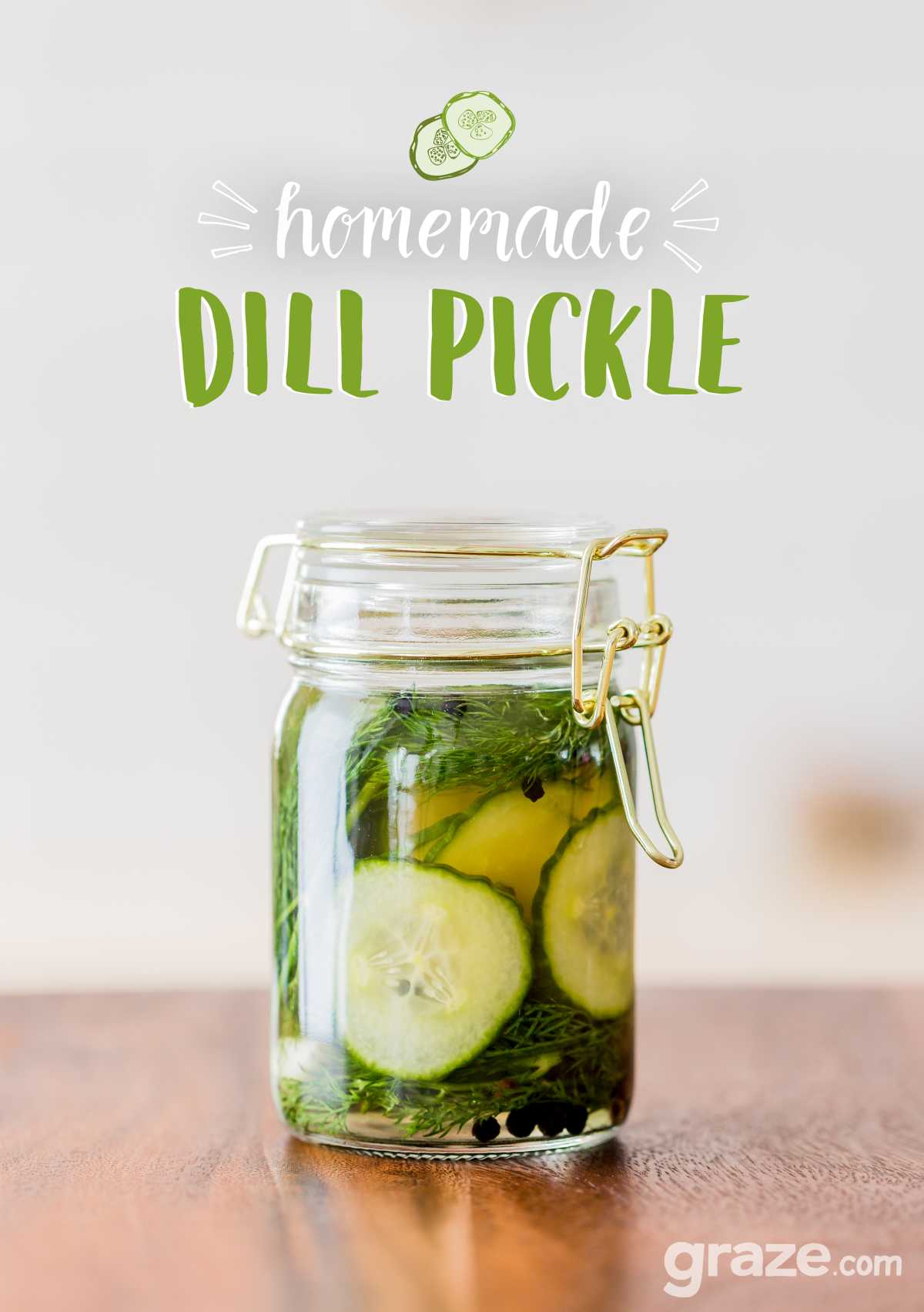 dill pickle typography
