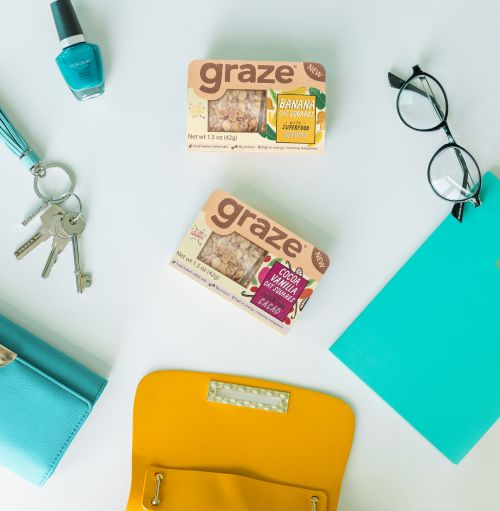 Bag flat lay US square