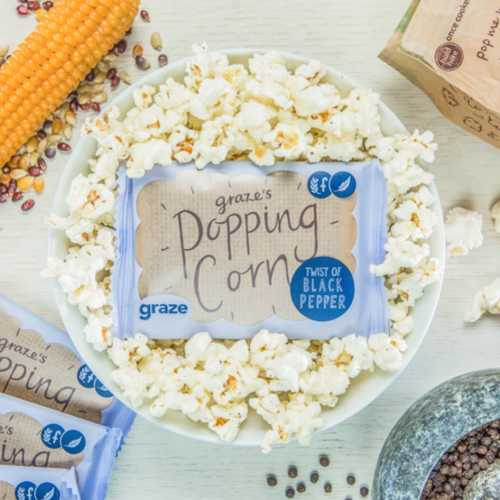 peppered popcorn