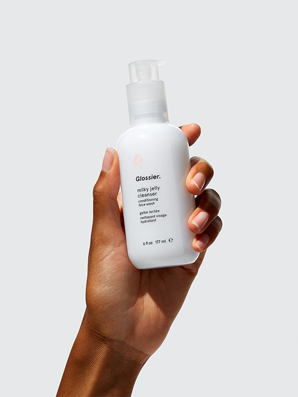Glossier  Milky Jelly Cleanser conditioning face wash 6fl oz/177ml  £15.00 at Glossier