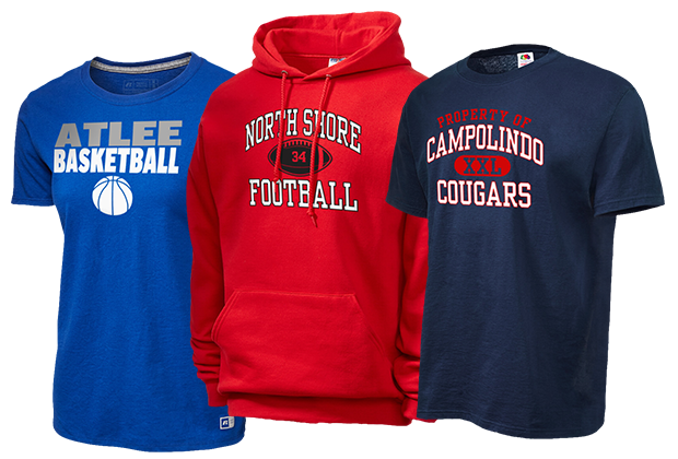 dfa5bb00 High School Apparel, College Fan Gear, Pro Sports Clothing, and ...