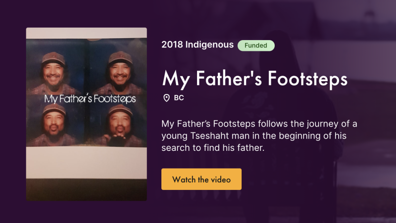 My Father's Footsteps - box art