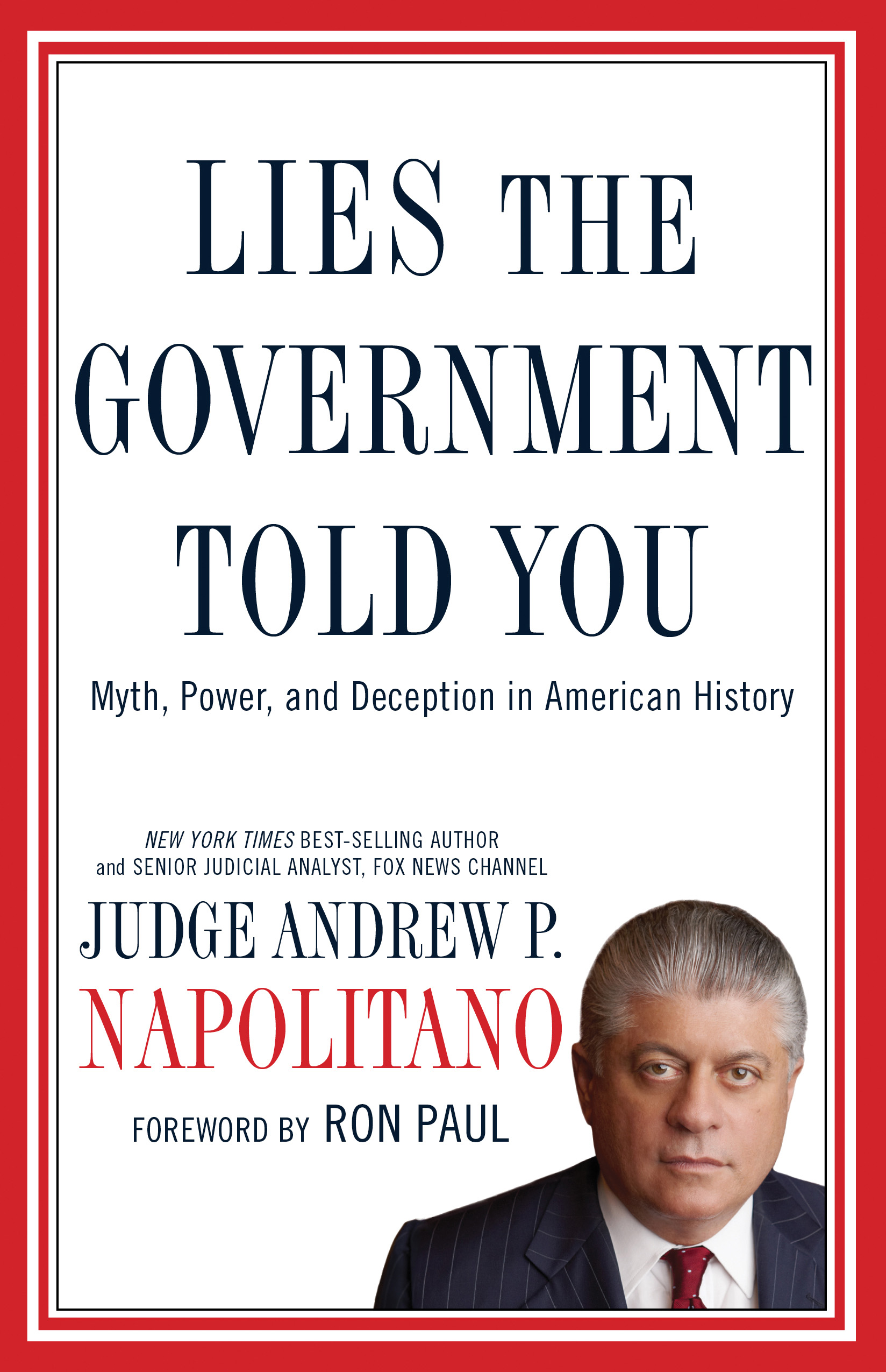 Lies the Government Told You book cover
