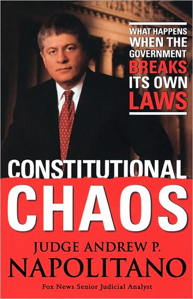 Constitutional Chaos book cover