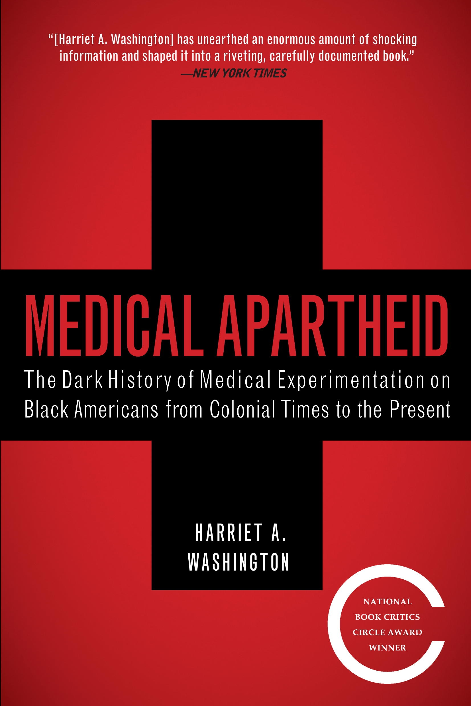 Medical Apartheid book cover