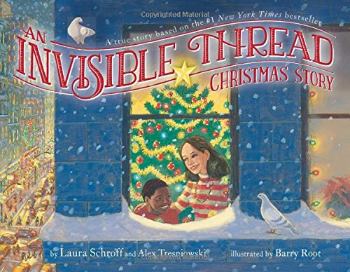 An Invisible Thread Christmas Story book cover