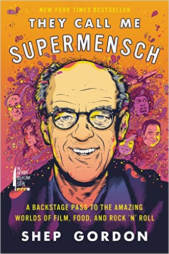 They Call Me Supermensch Book Cover