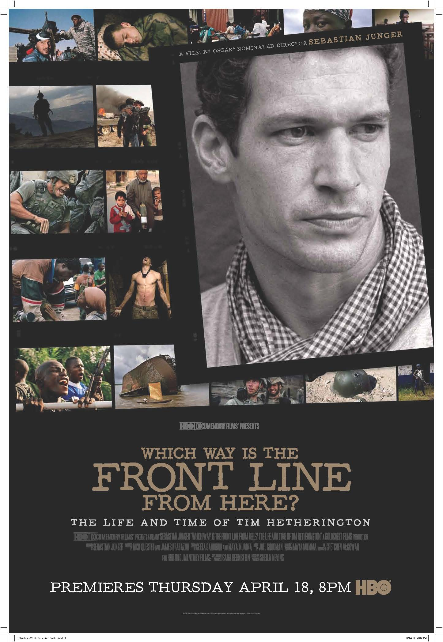 Which Way is the Front Line From Here? poster