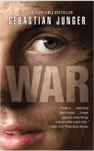 War by Sebastian Junger book cover