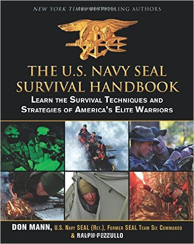 The U.S. Navy SEAL Survival Handbook book cover