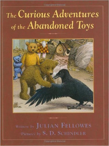 Curious Adventure of Abandoned Toys book cover