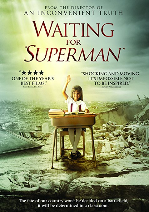 "Waiting for ""Superman"" book cover"