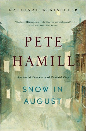 Snow in August book cover