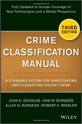 Crime Classification Manual book cover