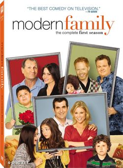 Modern Family DVD cover
