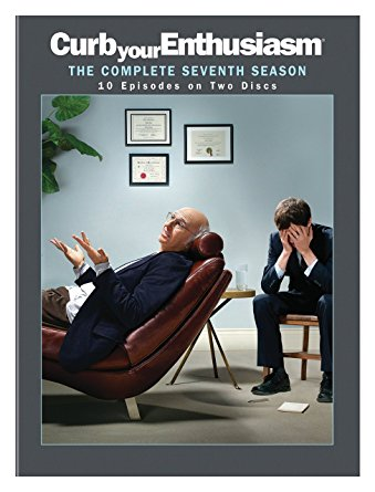 Curb Your Enthusiasm: Season 7 DVD cover