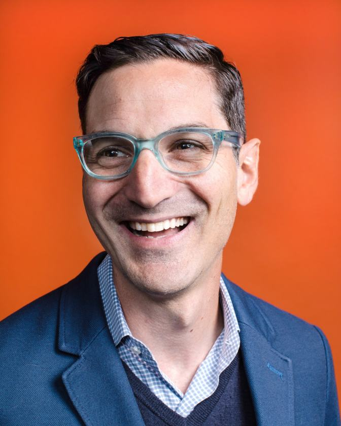 Guy Raz New York Times Headshot by Peter Prato
