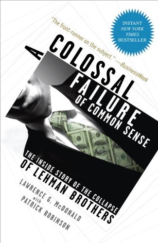 A Colossal Failure of Common Sense book cover