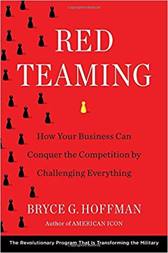 Red Teaming by Bryce Hoffman book cover