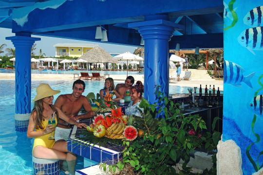 CUVRAMELCS Melia Cayo Santa Maria - Swim Up Bar, Guests, Bar, Cocktails, Dr
