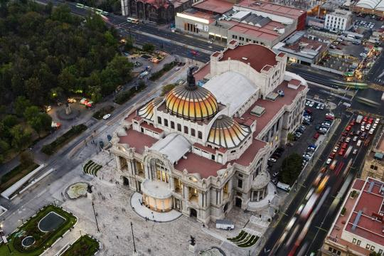 MX Mexiko City Mexico City bellas Artes 2