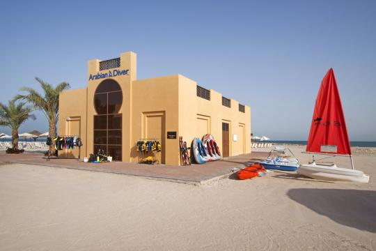 AEDXBHIRAS Hilton Resort & Spa Ras Al Khaimah Watersports Center