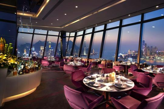 HKHKGHARBG Harbour Grand Hongkong Harbour Grand Hong Kong Le 188˚ Restaurant & Lounge