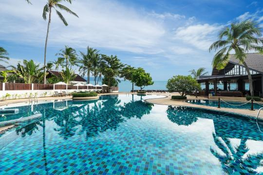 THUSMPEACE Peace Resort Samui Swimming Pool 3