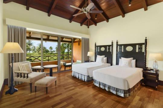 INGOIITCGR ITC Grand Goa 27 Sea View Room Twin Bed