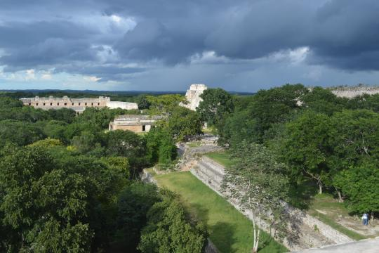 MX Mexiko Yucatan Uxmal mexico-567994