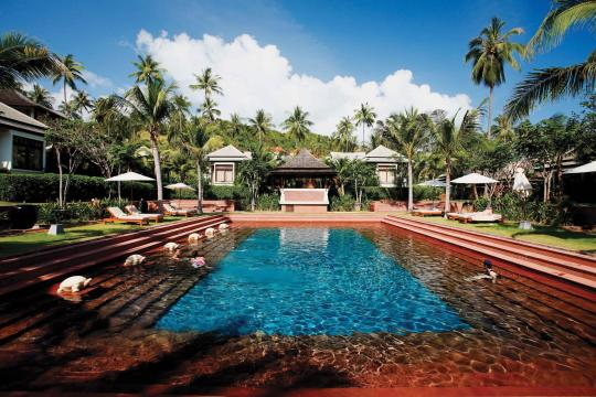 THUSMMELAT Melati Beach Resort & Spa Senctuary Pool