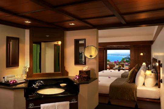 INTRVRAVIZ The Raviz Kovalam BEACH VIEW ROOM