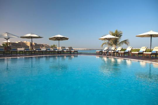 AEDXBHIRAS Hilton Resort & Spa Ras Al Khaimah Swimming Pool