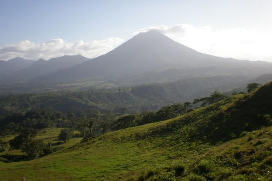 CR Costa RicaArenal Volcano