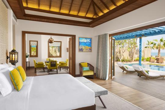 QADOHBANAN Banana Island Resort by Anantarat Two Bedroom Seaview Pool Villa-106