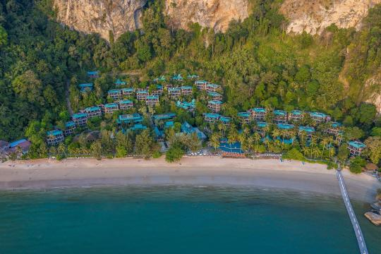 THKBVCENTR Centara Grand Beach Resort Krabi CKBR aerial-view-07