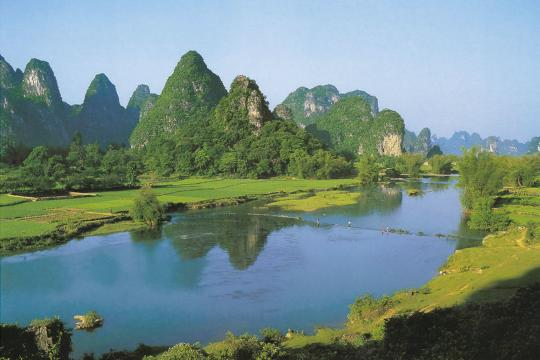 CN China Guanxi China Guilin Li Fluss 6