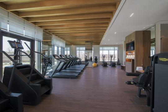 AEAUHSAADI Saadiyat Rotana Resort & Villas Bodylines Fitness Center