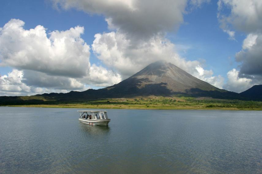 CR Costa RicaArenal Volcano Lake Boat Tour