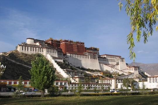 China29 Tibet Lhasa Potala Palast 7