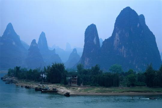 CN China Guanxi China Guilin Li Fluss 2