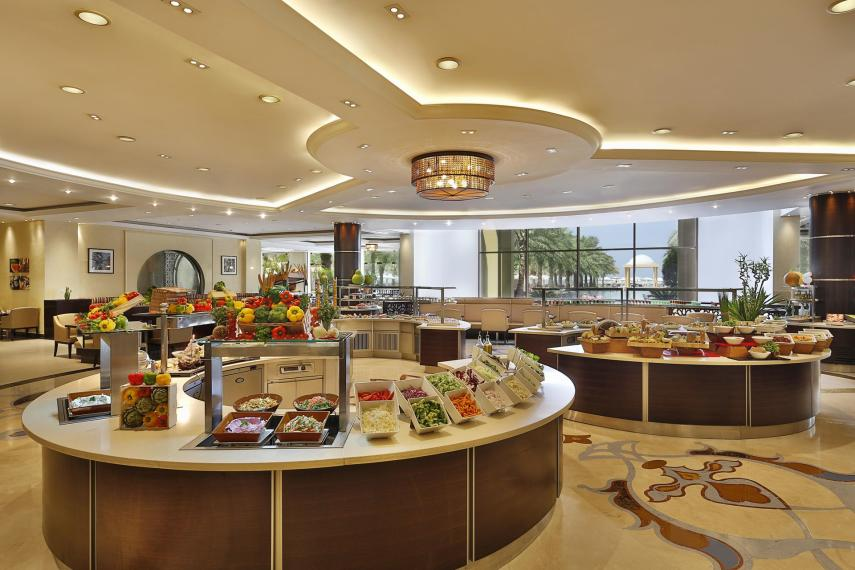 AEDXBHIRAS Hilton Resort & Spa Ras Al Khaimah Buffet at Maarid
