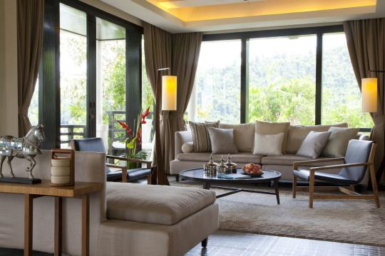 MYBKIGAYA Gaya Island Resort GIR - Suria Suite living area