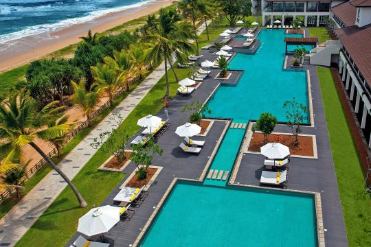 LKCMBCENBE Centara Ceysands Resort & Spa Swimming Pool Areal View