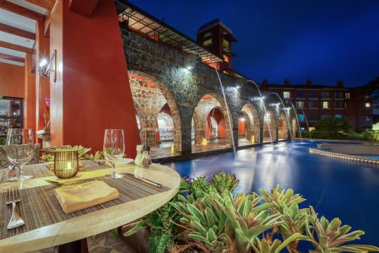 CRSJOSUENO Los Suenos Marriott Hacienda Kitchen Exterior View