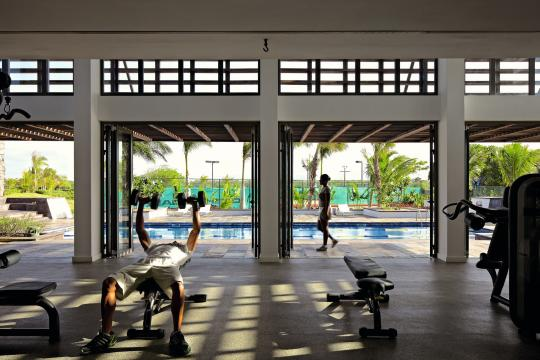 MUMRULONGB Long Beach Golf & Spa Resort Fitness Centre