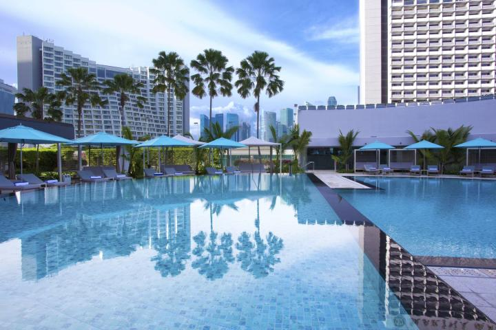 SGSINPANPA The Pan Pacific Singapore Pan Pacific Singapore Swimming Pool Day