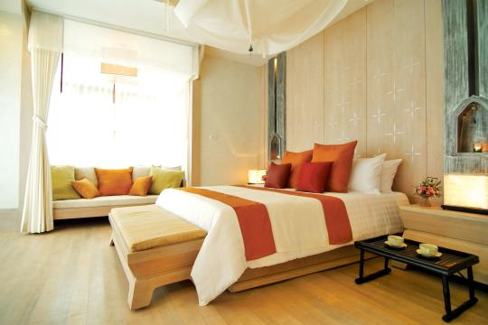 THUSMMELAT Melati Beach Resort & Spa Pool Villa (Bedroom)