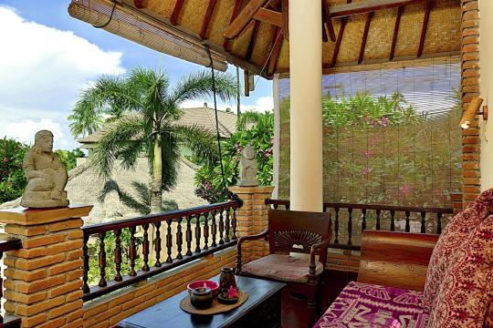 IDAMIPURIM Puri Mas Boutique Resort & Spa View of Quirky Garden Room