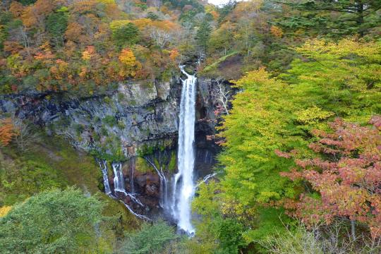 JP Japan Nikko Kegon Fall Nationalpark